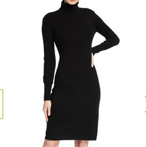 Neiman Marcus turtleneck sweater dress nwt large